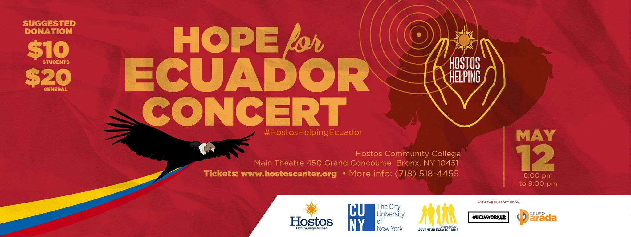 Hope for Ecuador - Concert