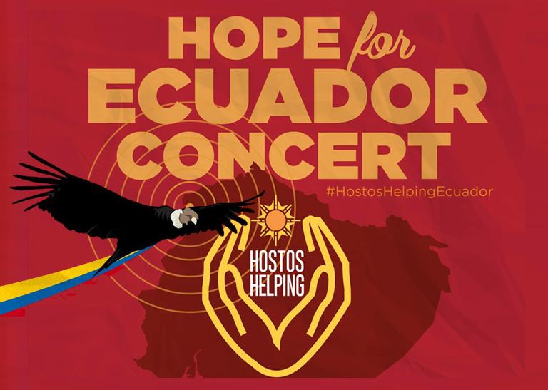 HOPE FOR ECUADOR – CONCERT