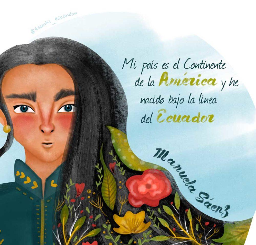 Mujeres de la historia ecuatoriana